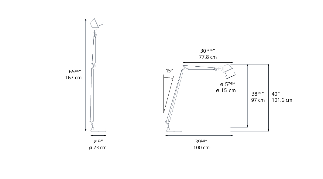 TOLOMEO READING Floor - Inspiration, materials and technologies ...