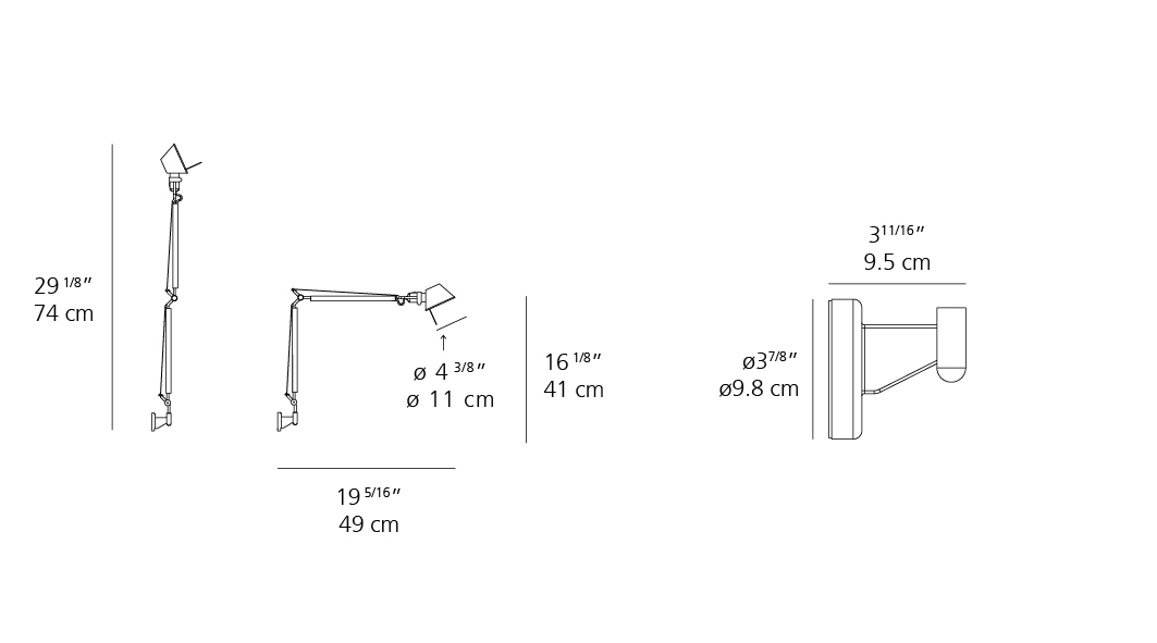 Tolomeo Wall Inspiration Materials And Technologies Artemide