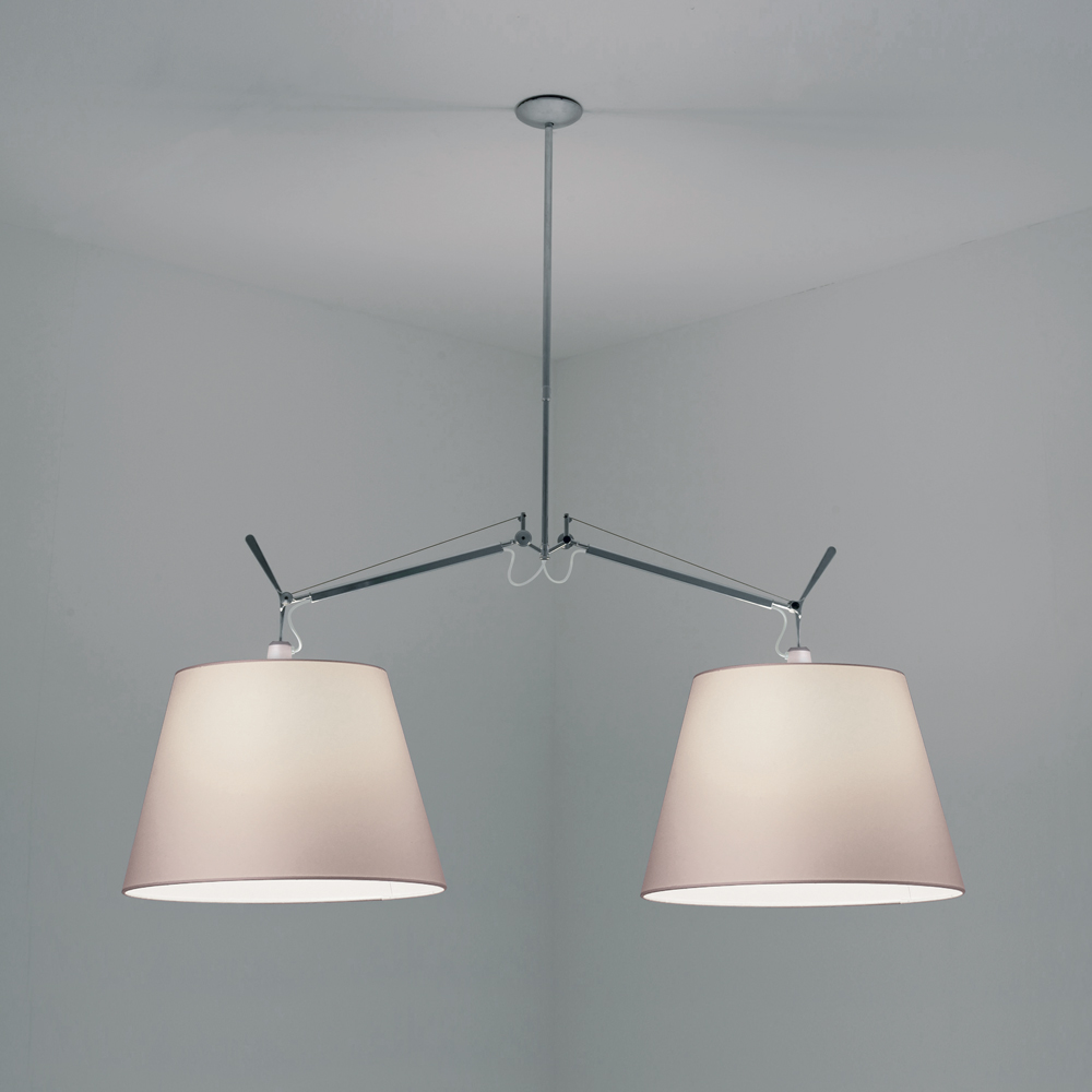 tolomeo double w shade suspension inspiration materials and